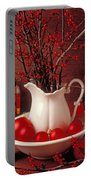Christmas Still Life Portable Battery Charger