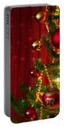 Christmas Tree Detail Portable Battery Charger