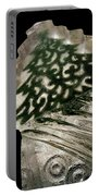 Christmas Tree Frozen In Time Portable Battery Charger