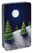 Christmas Trees II Portable Battery Charger
