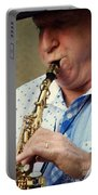 Christopher Mason Alto Sax Player Portable Battery Charger
