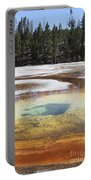 Chromatic Pool Hot Spring, Upper Geyser Portable Battery Charger