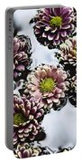 Chrysanthemum 3 Portable Battery Charger by Skip Nall