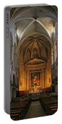 Church Interior Dordogne France Portable Battery Charger
