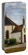 Church Off The Brittany Coast Portable Battery Charger