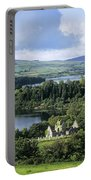 Church On A Landscape, Ballindoon Portable Battery Charger
