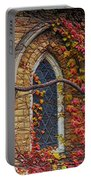 Church Window Autumn Portable Battery Charger