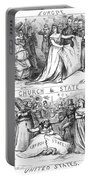 Church/state Cartoon, 1870 Portable Battery Charger