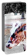 Cibolo Ranch Steer Portable Battery Charger