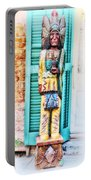 Cigar Store Indian - New Orleans Portable Battery Charger