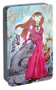 Circe The Sorceress Portable Battery Charger