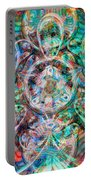 Circles Of Life Portable Battery Charger by Mo T