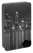 City At Dawn Portable Battery Charger
