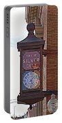 City Clock In Silver City Nm Portable Battery Charger