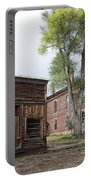City Drug Store And Hotel Meade - Bannack Montana Ghost Town Portable Battery Charger