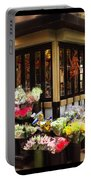 City Flowers Portable Battery Charger