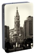 City Hall From The Parkway - Philadelphia Portable Battery Charger