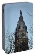 City Hall Tower Philadelphia Portable Battery Charger