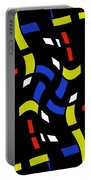 City Lights Abstract Portable Battery Charger