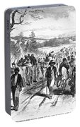 Civil War: Freedmen, 1863 Portable Battery Charger