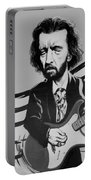 Clapton In Black And White Portable Battery Charger