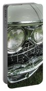 Classic Car - White Grill 1 Portable Battery Charger