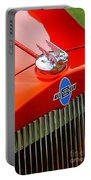 Classic Chevrolet Hood And Grill Portable Battery Charger