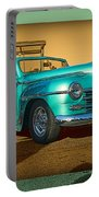 Classic Teal Convertible Portable Battery Charger