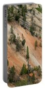 Cliff Side Grand Canyon Colors Vertical Portable Battery Charger