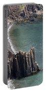 Cliffs At Grand Manan Island, Canada Portable Battery Charger