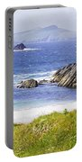 Clogher Beach, Blasket Islands, Dingle Portable Battery Charger