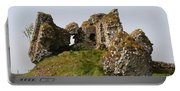 Clonmacnoise Castle Ruin - Ireland Portable Battery Charger