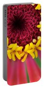 Close Up Dahlia Portable Battery Charger