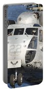 Close-up Of A Ch-53 Sea Stallion Portable Battery Charger