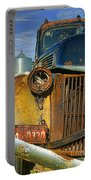 Close Up Of Rusty Truck Portable Battery Charger
