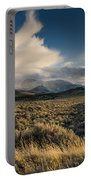 Clouds Over East Humboldts Portable Battery Charger