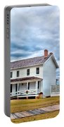 Cloudy At Bodie Portable Battery Charger