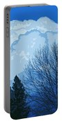 Cloudy Blue Dream Portable Battery Charger