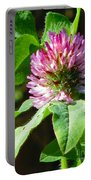 Clover Blossom Day Portable Battery Charger