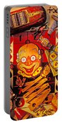 Clown Toy And Old Playthings Portable Battery Charger by Garry Gay