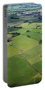 Co Fermanagh, Ireland Aerial View Of Portable Battery Charger