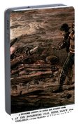 Coal Mine Explosion, 1884 Portable Battery Charger