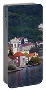 Coastal Town Of Montenegro Portable Battery Charger