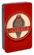 Cobra Emblem Portable Battery Charger