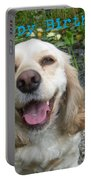 Cocker Spaniel Birthday Portable Battery Charger