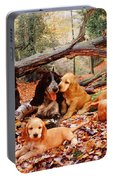 Cocker Spaniel Portable Battery Charger