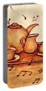 Coffee Break 2 Coffee Painting Portable Battery Charger