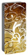 Coffee Flowers 1 Calypso Portable Battery Charger