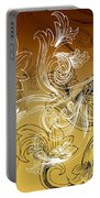 Coffee Flowers 2 Calypso Portable Battery Charger