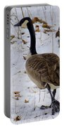 Cold Footed Goose On The Loose Portable Battery Charger